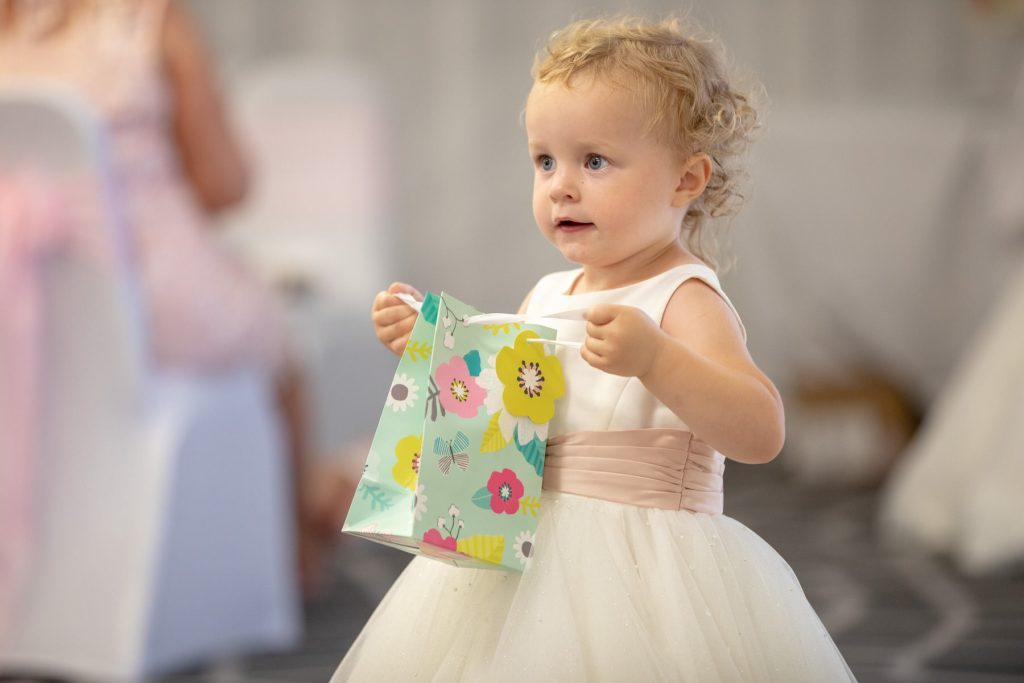 todder carrying present bag village hotel club venue dudley birmingham oxfordshire wedding photography