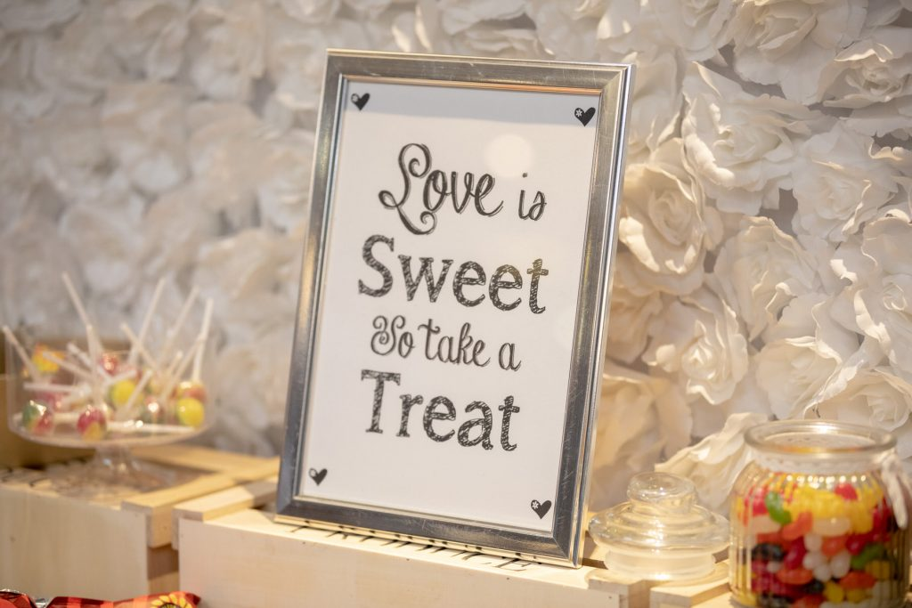 sweet treats sign village hotel club venue dudley birmingham oxford wedding photography