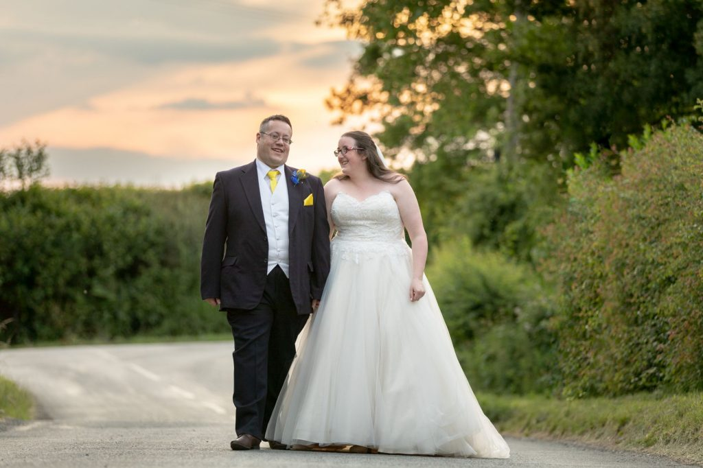 bride groom sunset sky manor hill house bromsgrove worcestershire oxfordshire wedding photographers