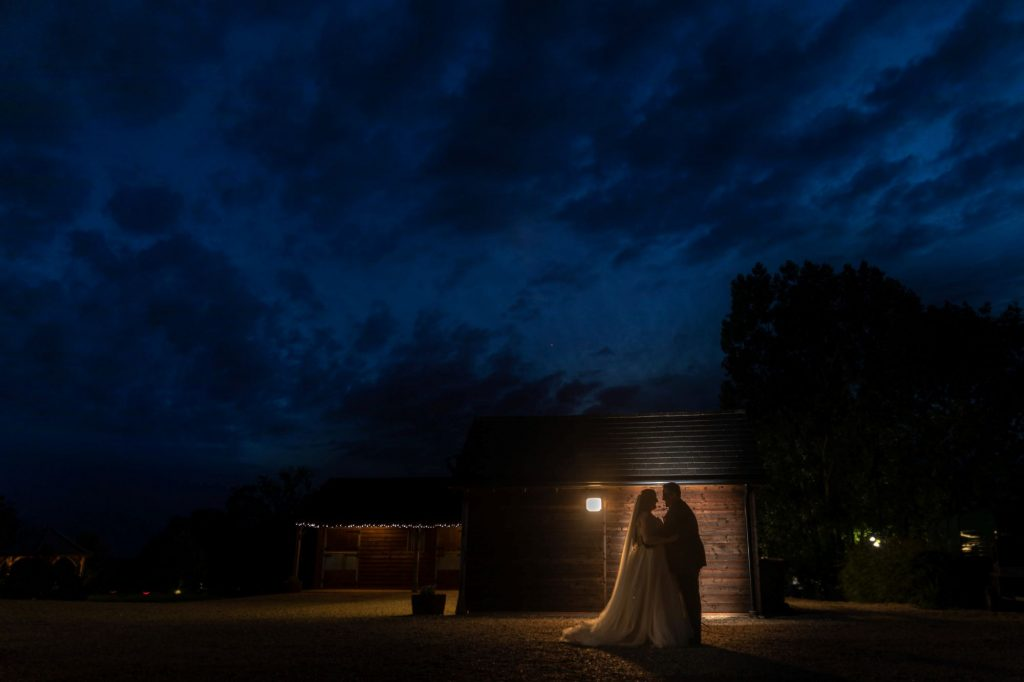 bride groom night silhoutte manor hill house bromsgrove worcestershire oxfordshire wedding photography