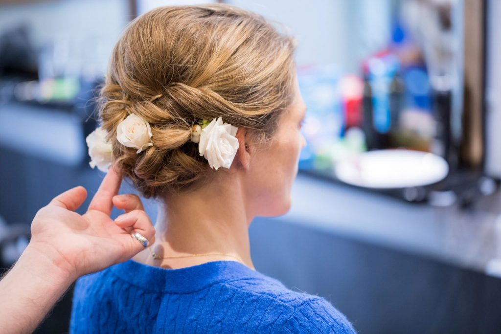 bridal preparation hair styling blenheim palace venue woodstock venue oxford wedding photography