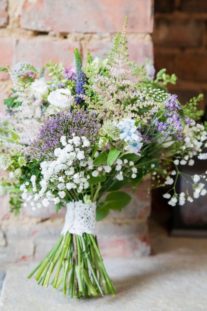 brides floral bouquet registry office ceremony roysse court abingdon oxfordshire wedding photographers