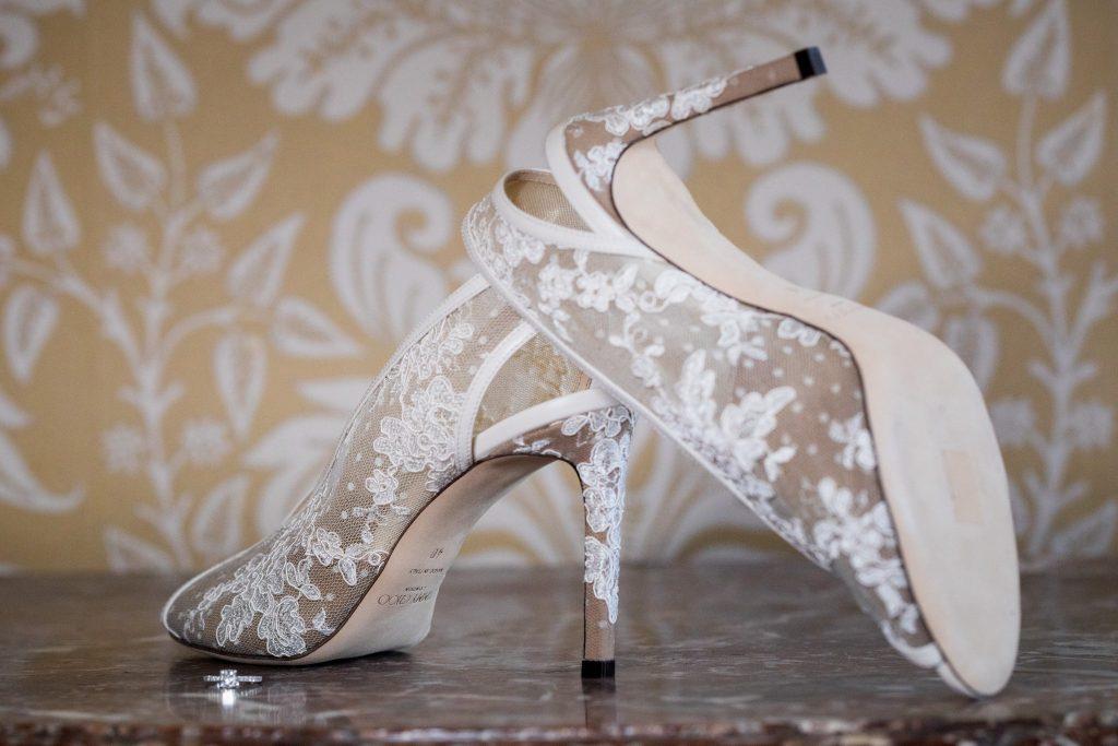 brides jimmy choo shoes kilworth house hotel north kilworth leicestershire oxford wedding photographer