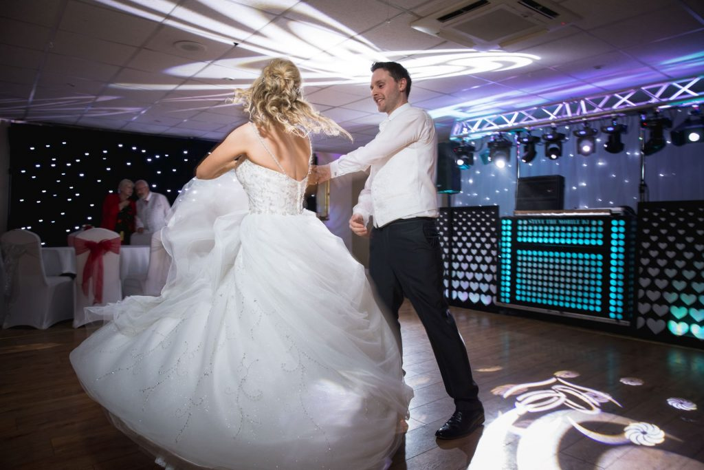 dancing bride groom wroxeter hotel celebrations shrewsbury shropshire oxfordshire wedding photographer
