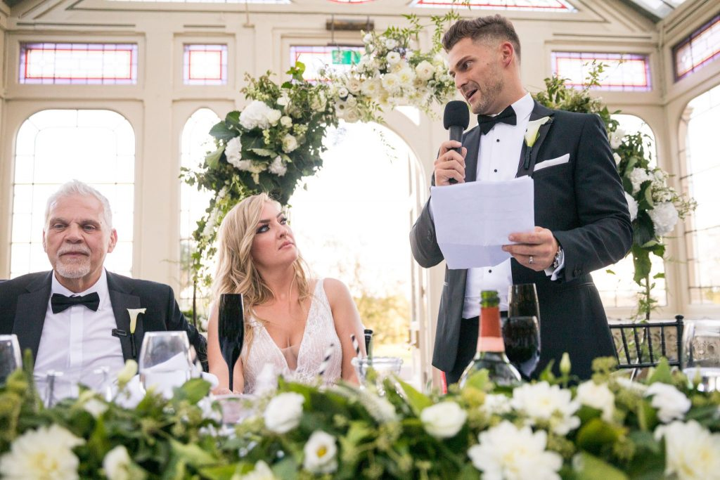 bride father of bride hear grooms speech kilworth house hotel north kilworth leicestershire oxford wedding photography