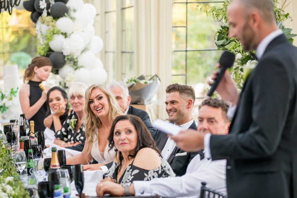 top table guest hear bestmans speech kilworth house hotel north kilworth leicestershire oxfordshire wedding photography