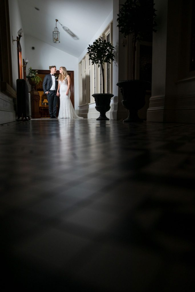 bride groom alone hold hands kilworth house hotel north kilworth leicestershire oxfordshire wedding photographers