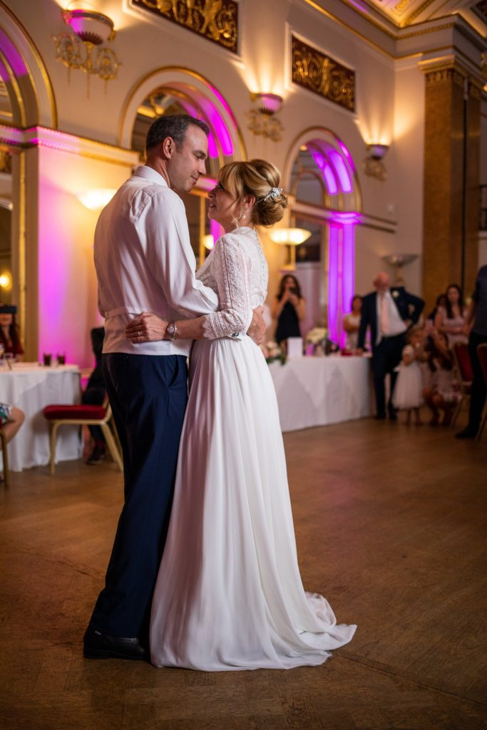 first dance bride groom lansdowne club mayfair london oxford wedding photography