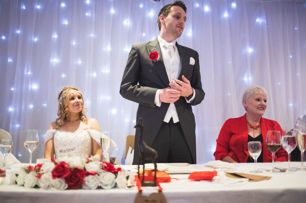 grooms speech wroxeter hotel reception shrewsbury shropshire oxford wedding photographer