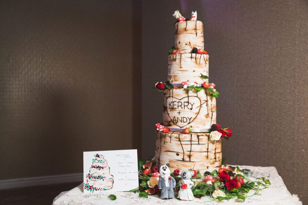bride grooms decorated cake wroxeter hotel reception shrewsbury shropshire oxfordshire wedding photographer