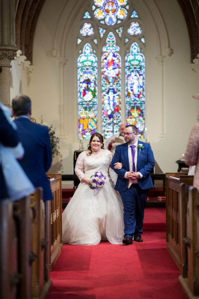 just married bride groom royal chapel windsor great park berkshire oxford wedding photographer