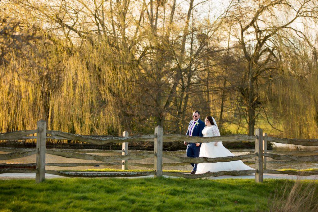 bride groom stroll windsor grear park near york club berkshire oxford wedding photography