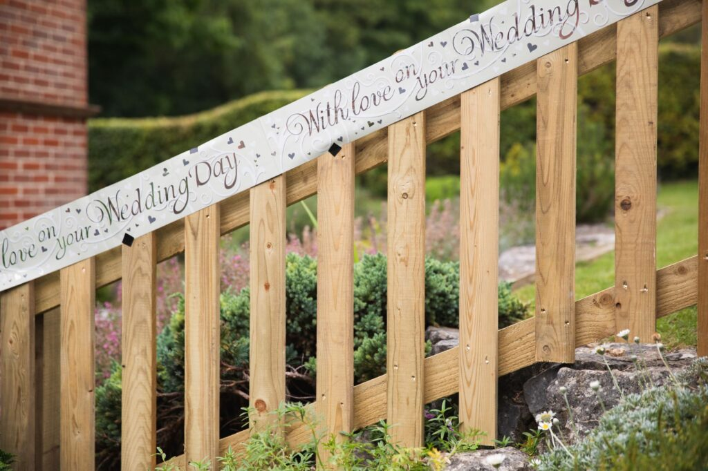 brides home wedding day signage streatley oxfordshire wedding photographer