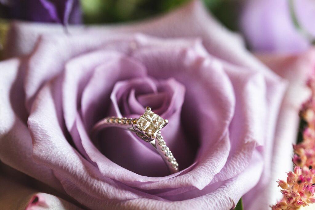 brides ring within rose bridal prep cain manor surrey hampshire borders oxford wedding photographer