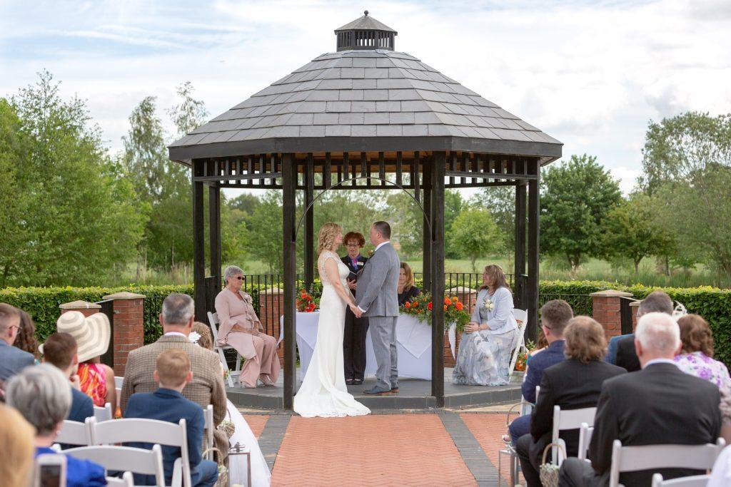bride groom celebrant witness marriage ceremony ardencote luxury venue warwick oxfordshire wedding photographers