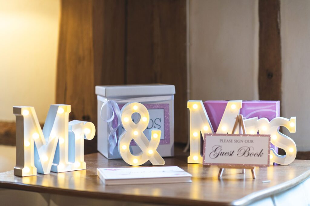 guest book mr mrs signage cain manor venue surrey oxfordshire wedding photography