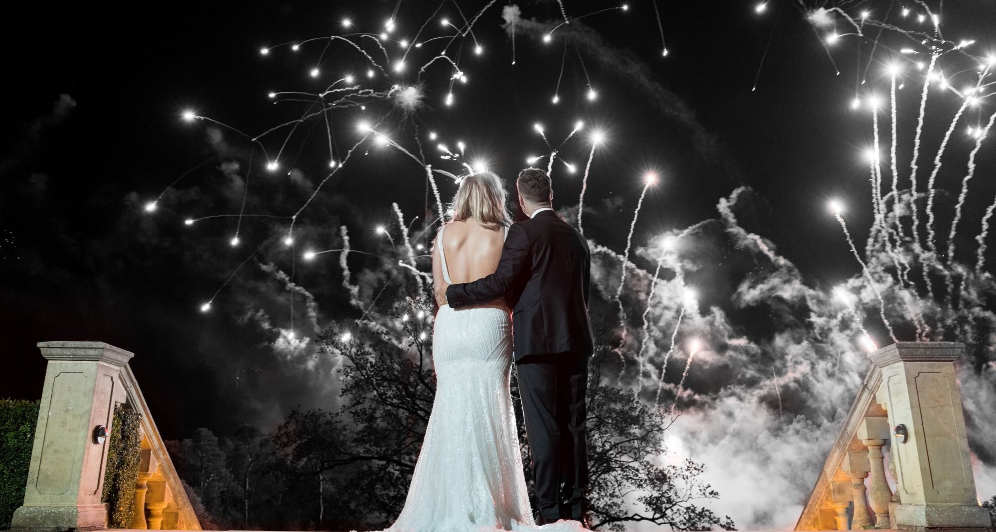 bride grooms fireworks display kilworth house hotel leicestershire oxford wedding photography