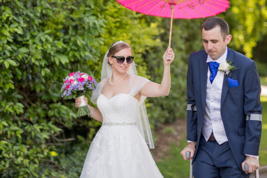 brides parasol shelters groom de vere beaumont hotel windsor grounds oxfordshire wedding photography