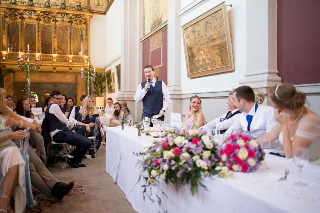 best mans speech de vere beaumont estate windsor oxford wedding photographers