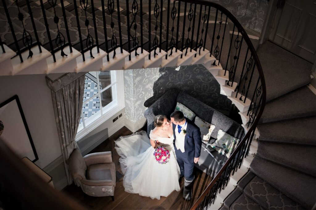bride grooms romantic moment de vere beaumont estate windsor oxford wedding photographers