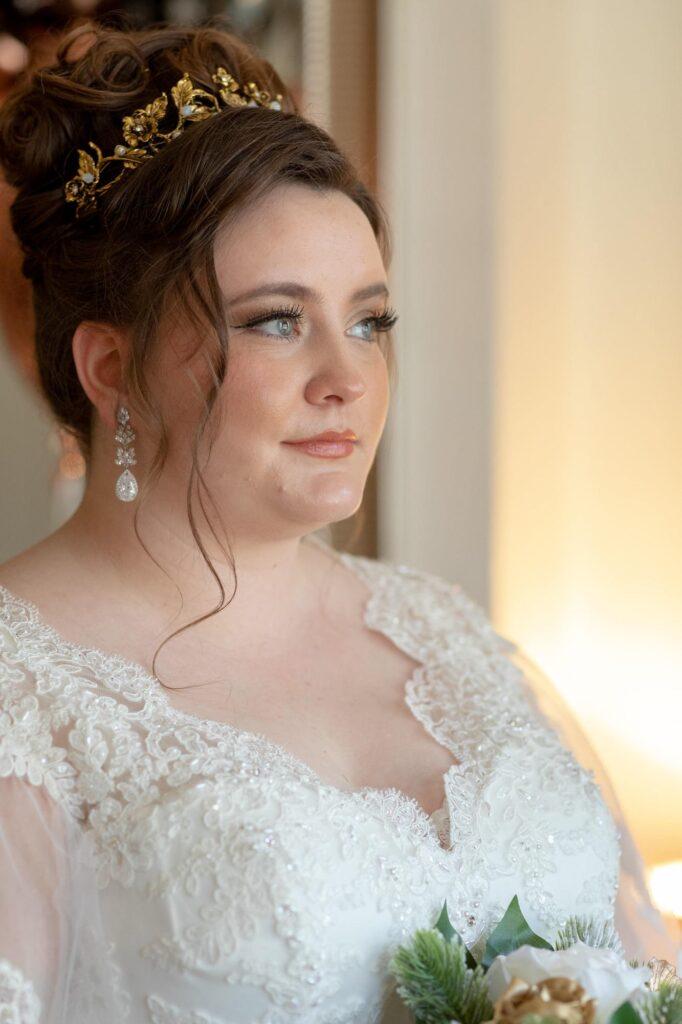 bride completes bridal prep danson park marriage ceremony bexleyheath oxfordshire wedding photographers