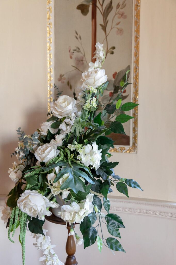 floral arrangement danson house bexleyheath london oxford wedding photography