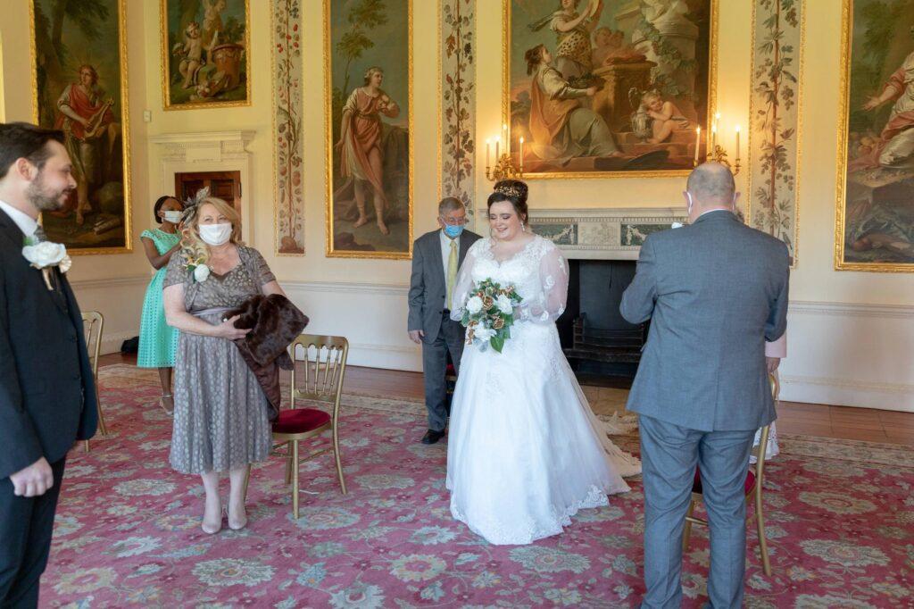 bride groom guests danson house registry office ceremony bexleyhouse oxford wedding photographer