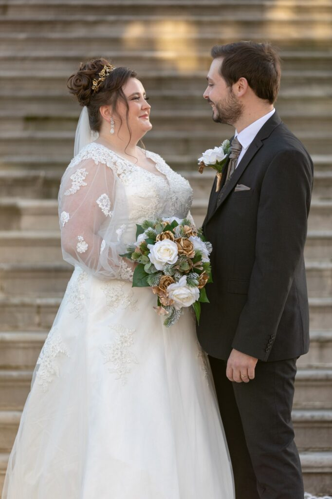 bride groom exchange romantic looks danson house bexleyheath london oxford wedding photographers