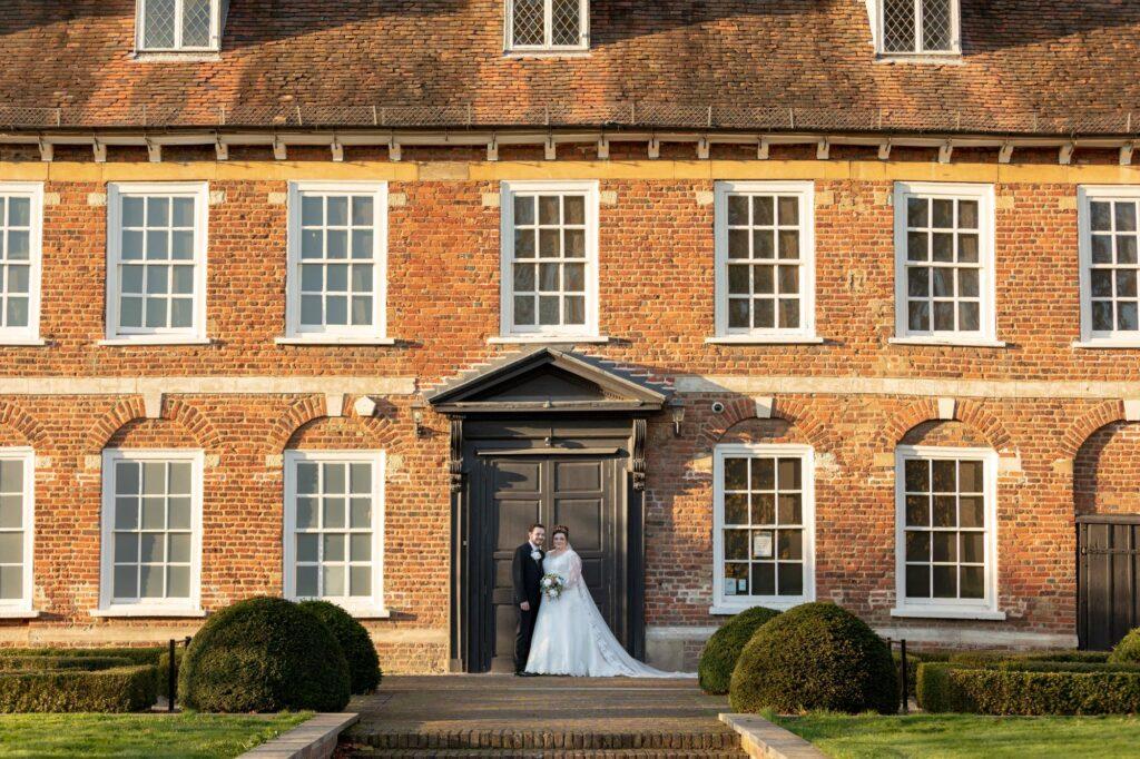 bride groom traditional portrait danson house and park bexleyheath oxfordshire wedding photography