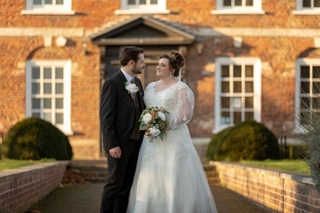 bride groom share romantic moment danson house and park bexleyheath oxford wedding photographer