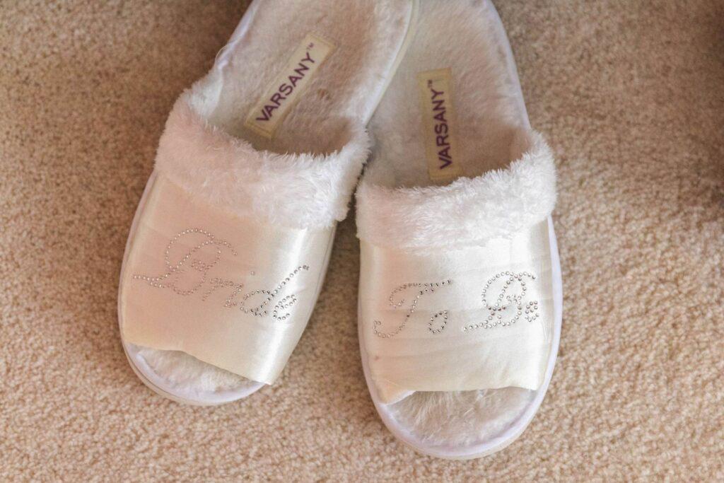 brides slippers bridal preparation rishworth sowerby bridge marriage oxford wedding photographer