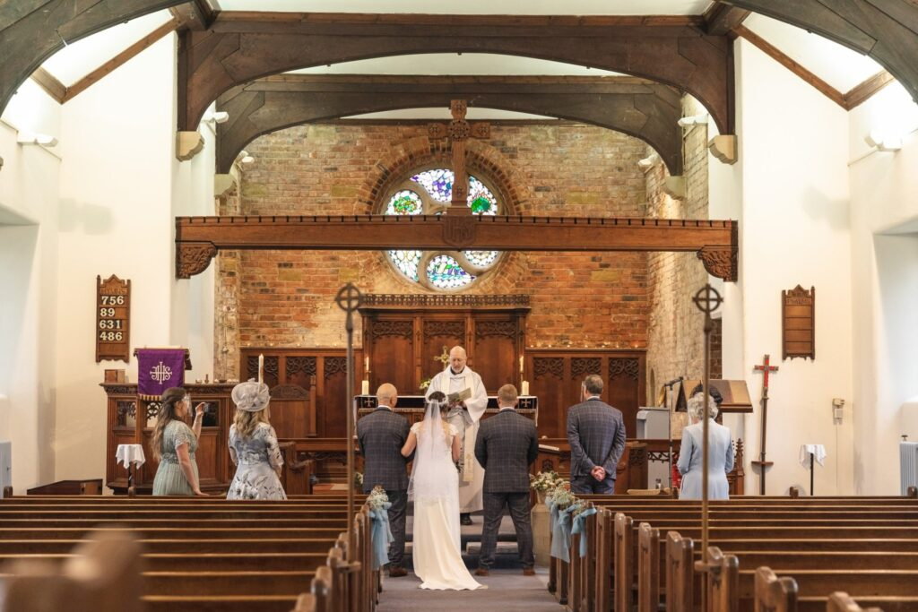 covid restricted marriage ceremony st johns church rishworth sowerby bridge oxford wedding photography