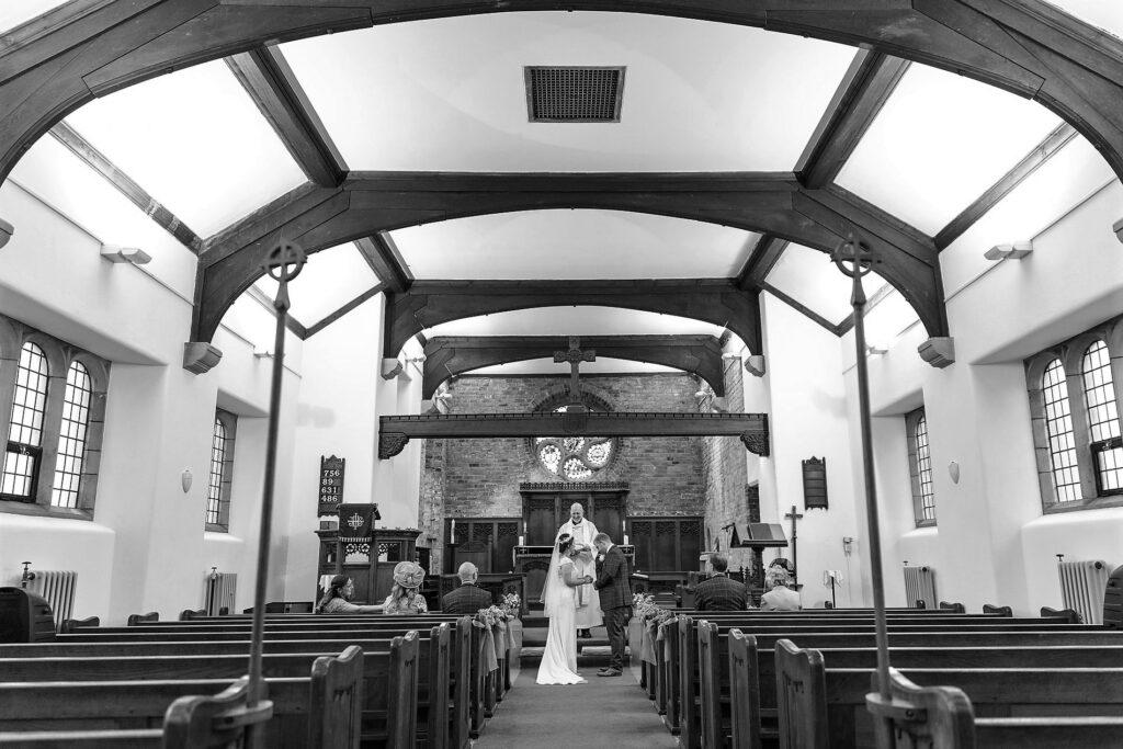 bride grooms covid micro wedding st johns church rishworth oxfordshire wedding photographer