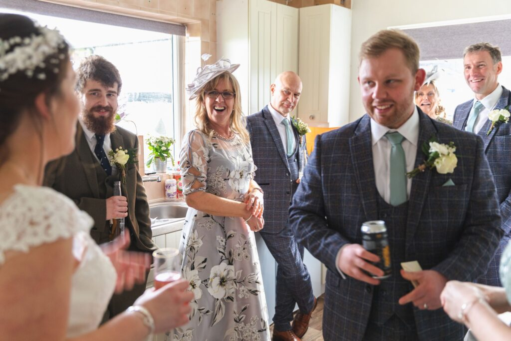 guests reception west yorkshire wedding oxford wedding photographers