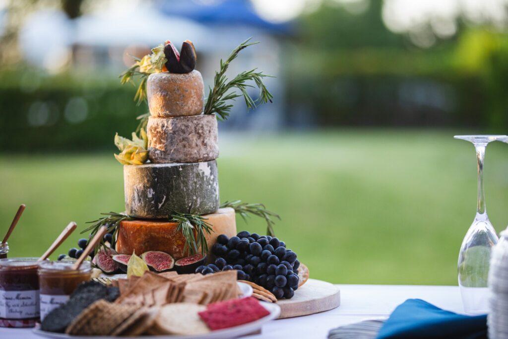 110 cheese chutney wedding breakfast winkfield berkshire oxford wedding photography
