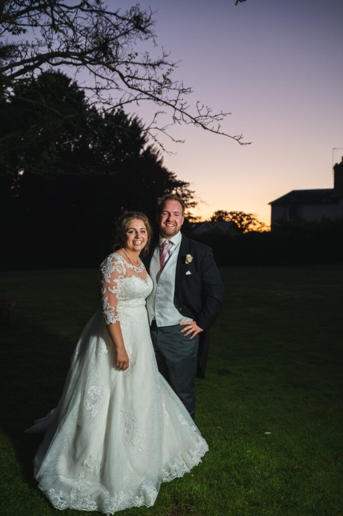 120 bride groom enjoy sunset winkfield berkshire oxford wedding photography