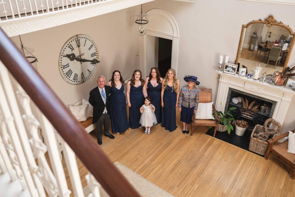 52 wedding dress first look winkfield berkshire oxford wedding photography
