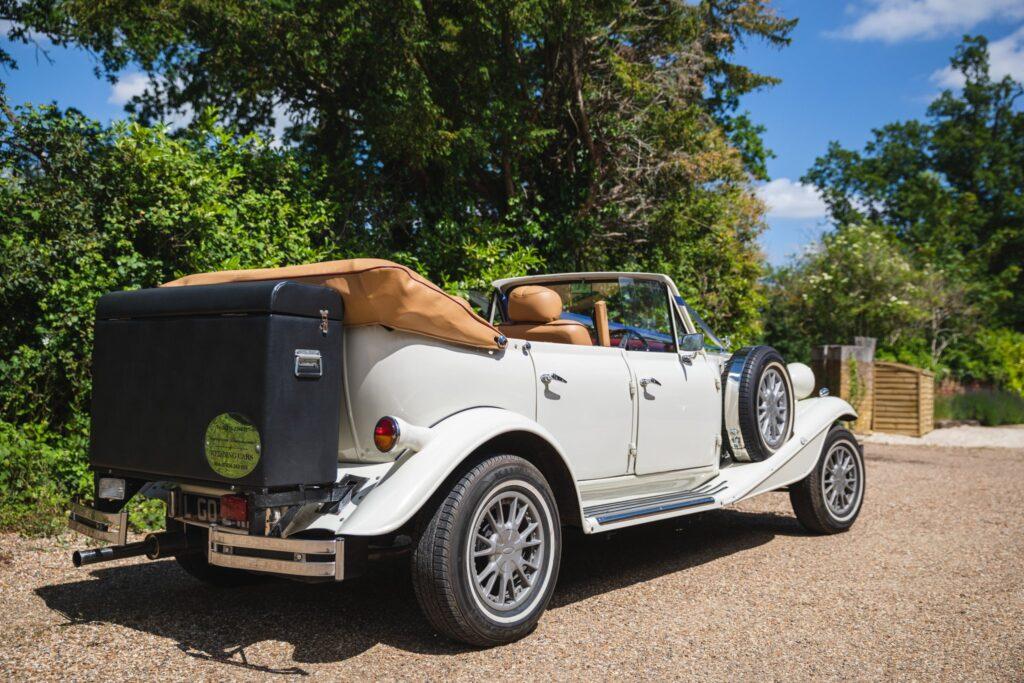 58 vintage opentop bridal car winkfield berkshire oxford wedding photography