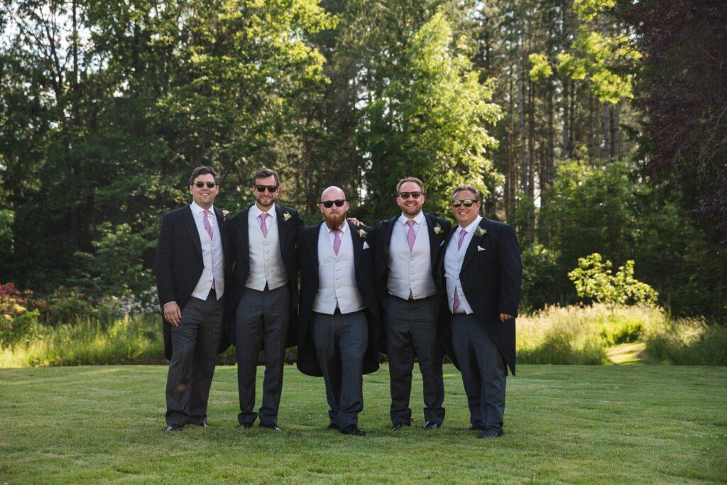 62 groom groomsmen winkfield windsor berkshire oxford wedding photographer