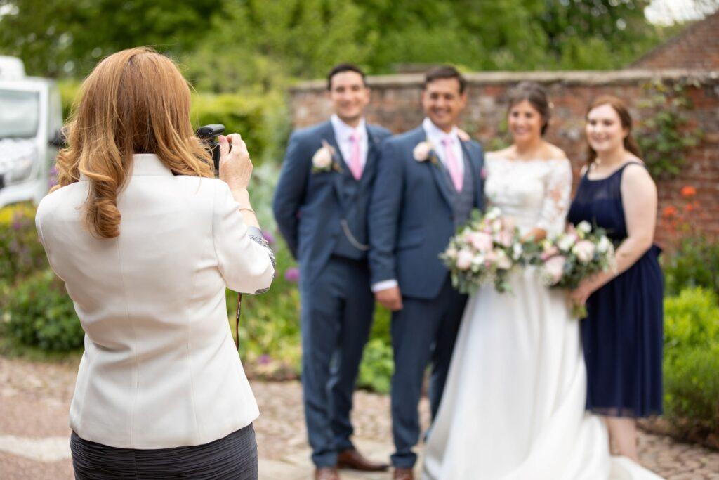 62 guest photographs wedding group pauntley court gardens gloucester oxford wedding photographer