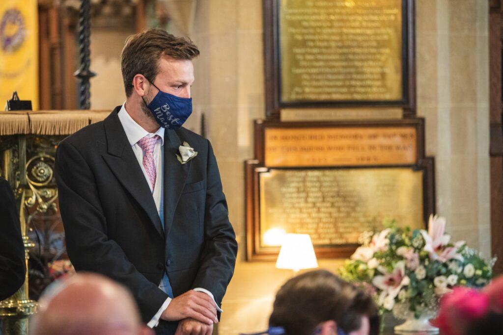 66 best man awaits brides arrival st marys church ceremony winkfield berkshire oxfordshire wedding photographers