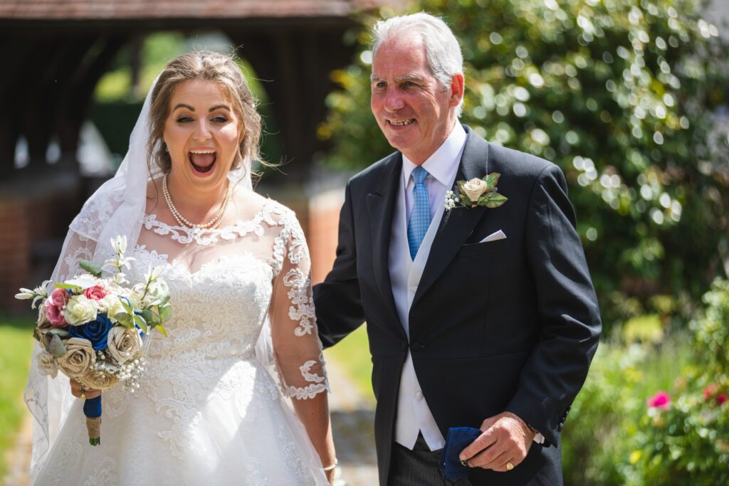 69 bride father of bride st marys churchyard winkfield berkshire oxford wedding photographers