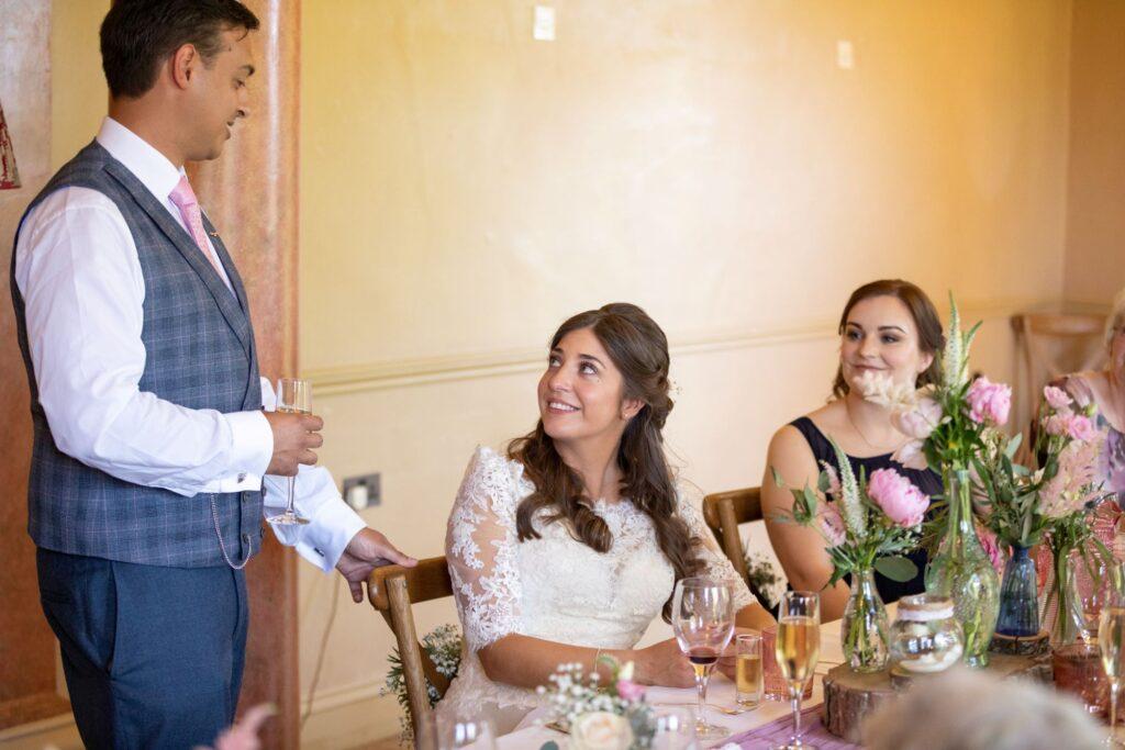 87 grooms speech pauntley court reception gloucester oxford wedding photographers