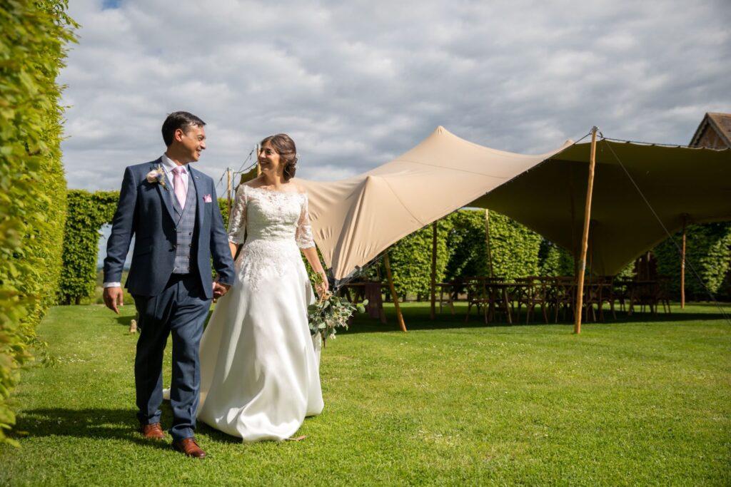 91 garden reception marquee pauntley court gloucester oxford wedding photography