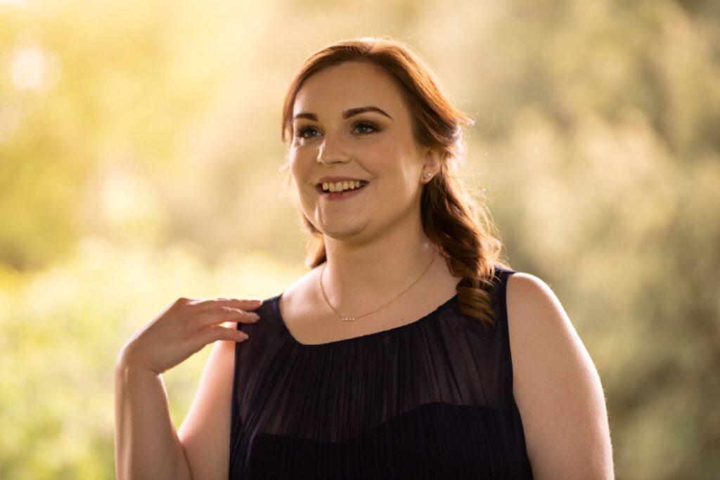 93 smiling bridesmaid pauntley court reception gloucester oxford wedding photographers