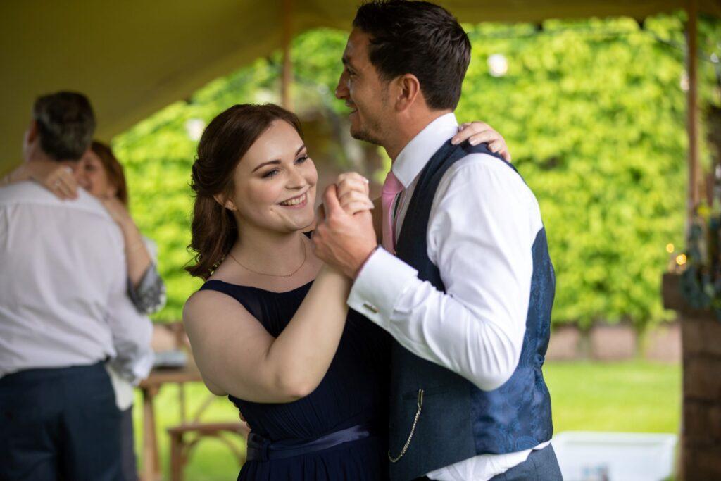 99 bridesmaid bestman dance pauntley court gloucester oxford wedding photography